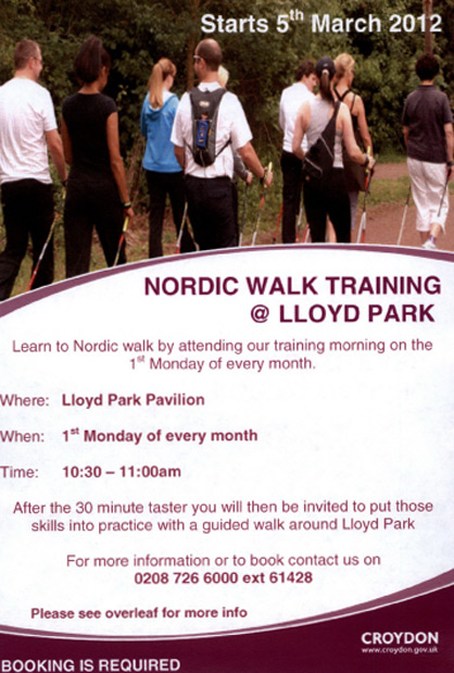 nordic walk training